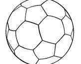 Desenho Bola de futebol II pintado por Fer