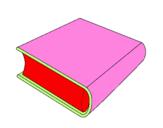 Desenho Livro pintado por nathy e vovo ro