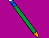 Desenho Lápis III pintado por Francisco
