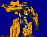 Desenho Transformer pintado por babobi