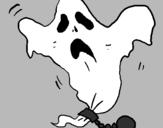 Desenho Fantasma acorrentado pintado por matheus  judo