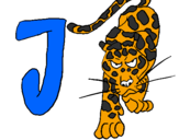 Desenho Jaguar pintado por bb