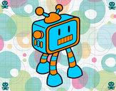 Desenho Robot TV pintado por Danny90