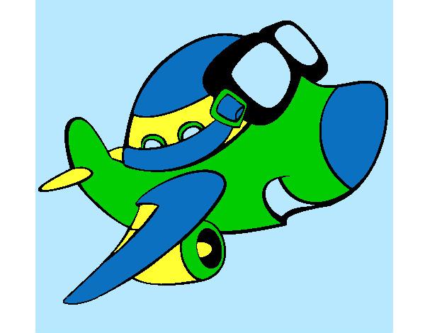 desenho de grupo escoteiro do ar cruzeiro do sul pintado e colorido