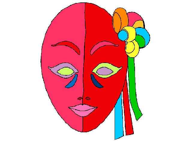 Desenho De Grande Carnaval Pintado E Colorido Por Camila O