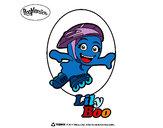 Desenho LilyBoo pintado por dudapellic