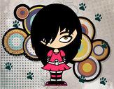 Desenho Olha Emo pintado por Lala
