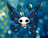 Desenho Borboleta Emo pintado por Nate