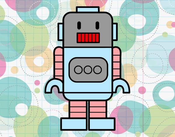 Desenho Robô alto pintado por biatxavier