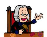 Desenho Juiz pintado por Dannyk3