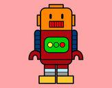 Desenho Robô alto pintado por MARCIO