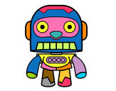 Desenho Robô galáctico pintado por Nilza