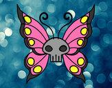 Desenho Borboleta Emo pintado por MariaFlor