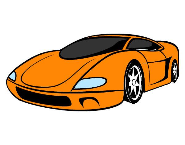 Desenho de carro loko pintado e colorido por Gordinho o ...