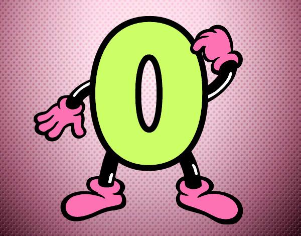numero-0-letras-e-numeros-numeros-pintad