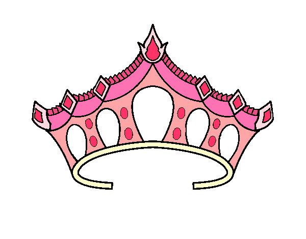 desenho de tiara pintado e colorido por miauzitah o dia 01 de