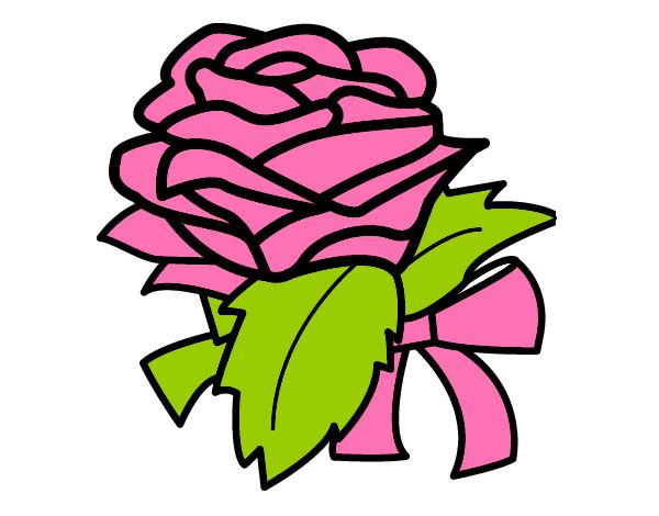 desenho de minha flor pintado e colorido por duda bonan o dia 03 de