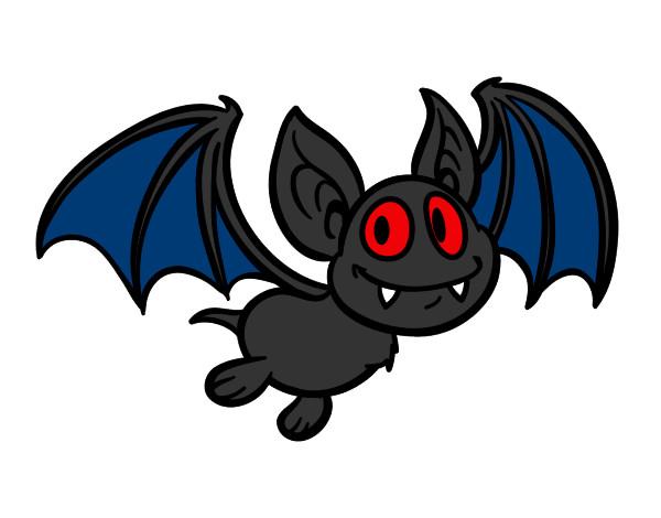 Well-known Desenho de morcego pintado e colorido por Jesuse o dia 02 de  KI29