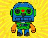Desenho Robô galáctico pintado por Pfszczurek