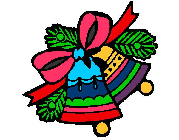 Desenho De Sinos De Natal Pintado E Colorido Por Clarinha2