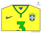 Desenho Camisa da copa do mundo de futebol 2014 do Brasil pintado por manuelaan