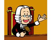 Desenho Juiz pintado por ImShampoo