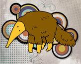 Desenho Tamanduá peludo pintado por MrFelipe