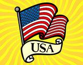 Desenho Bandeira dos Estados Unidos pintado por daniel12