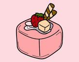 Desenho Bombom de fruta pintado por CarolCini