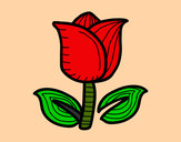 Desenho Tulipán pintado por Mami