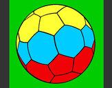 Desenho Bola de futebol II pintado por TheBestFut