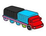 Desenho Caminhão largura pintado por moismaq