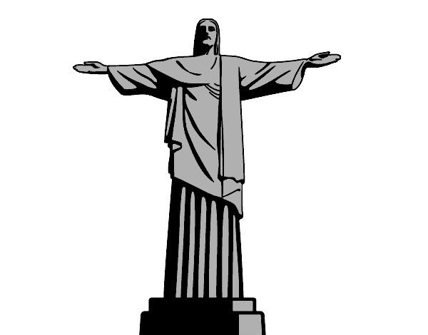 O Cristo Redentor Pintado Por Daniel12 1064155 on Div Em