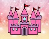 Desenho Castelo fantástico pintado por daniela200
