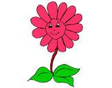 Desenho Flor feliz pintado por dverlindo