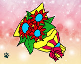 Desenho Ramo de girassol pintado por tetefa23
