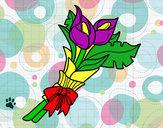 Desenho Ramo de lírios pintado por tetefa23