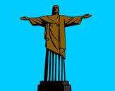 Desenho O Cristo Redentor pintado por vitorcely