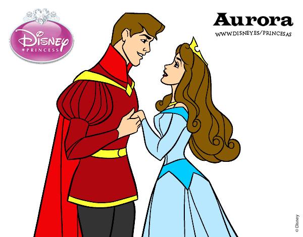 Princesas Para Colorir Bela Adormecida