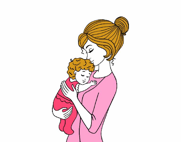 desenho de me levando o beb pintado e colorido por usurio no registrado o dia 18 de abril do 2015