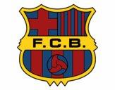 Desenho Emblema do F.C. Barcelona pintado por Arbaiter