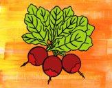 Desenho Três beterraba pintado por Missim