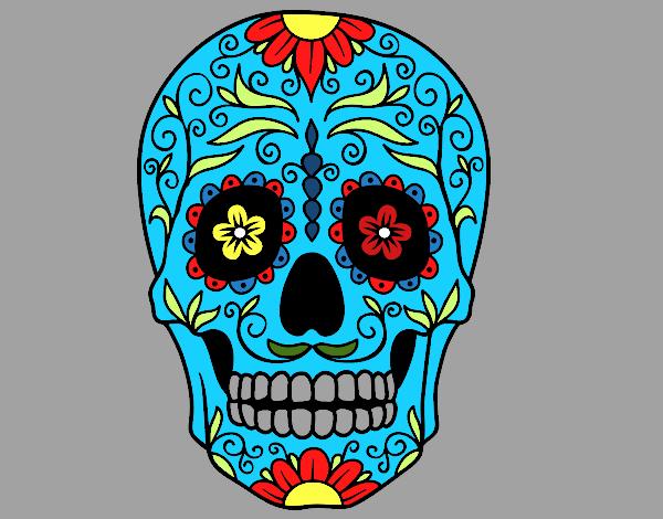 Top Desenho De Caveira Pintado Tattoo'-s in Lists for Pinterest