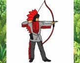 Índio com arco