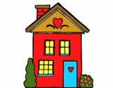 Casa con cuori