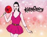 Katy Perry com um pirulito