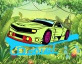 Desenho Carro desportivo veloz pintado por pollyy