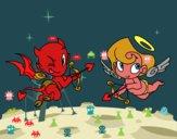 Diabo e cupido