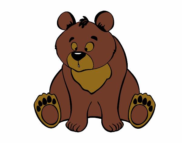 Urso Pardo Pintado Por 1089541 on Div Em