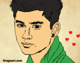 Desenho Zayn Malik 2 pintado por pollyy